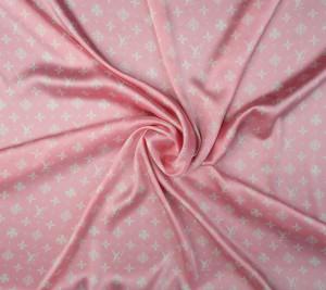 Wiskoza satynowa LV - pastelowy róż