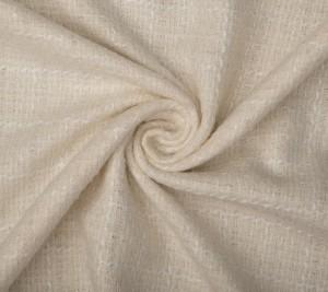 Chanelka wełniana - kolor ecru