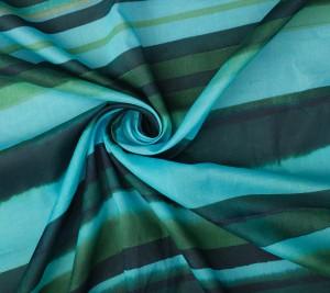 Batyst bawełniany cienki -  kolory morskie