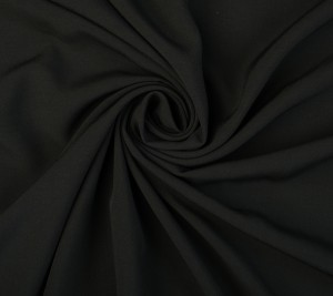 Batyst bawełniany elastyczny - czarny