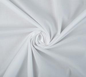 Bawełna - elastyczna popelina - biała - REGULAR