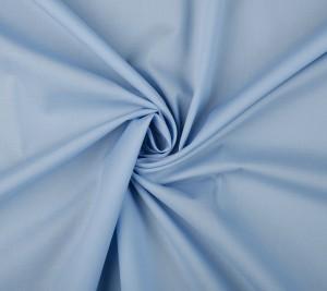 Bawełna - elastyczna popelina - błękitna - REGULAR