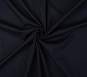 Bawełna - elastyczna popelina - granatowa - REGULAR