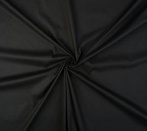 Bawełna - elastyczna popelina - czarny kolor - REGULAR