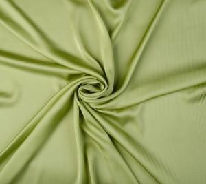 Jedwabna satyna - zielone jabko