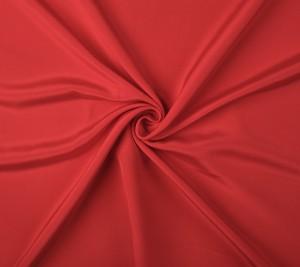 Jedwab - podwójna krepa Cady - Czerwony kolor