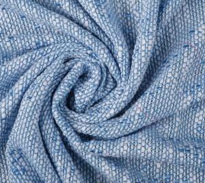 Chanelka wiskozowa - biało-niebieska