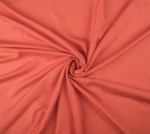 Tafta jedwabna pomarańczowa - sygnowana Balenciaga