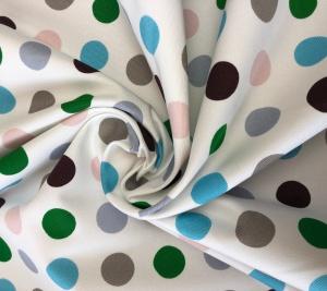 Bawełna w kropeczki kolorowe - sygnowana Prada