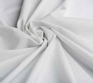 Włoska Bawełna koszulowa w kropeczki
