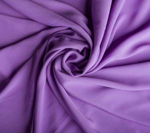 Krepa jedwabna w kolorze fiolet