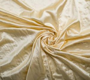 Jedwab pikowany - kolor ecru