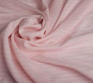 Batyst różowy paski. Włoskie tkaniny