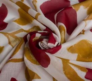 Włoski batyst - duże kwiaty - resztka 0,6 metra