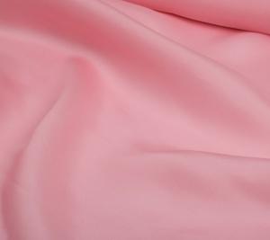 Jedwabna organza trzywarstwowa różowa