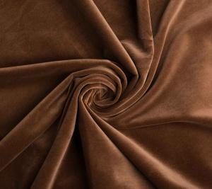 Aksamit w kolorze brązowym