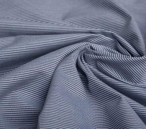 Dżins niebieski w paski - cienki