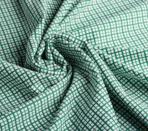 Elastyczna wiskoza - drobne białe kwadraciki