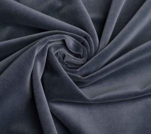 Aksamit w kolorze ciemnoszarym