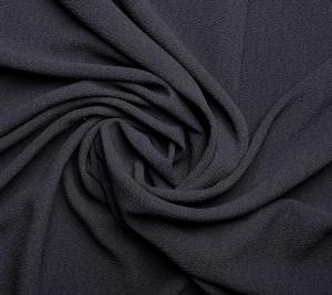 Włoska wiskoza czarna pikowana