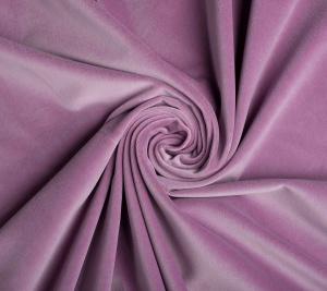 Aksamit w kolorze jasnofioletowym