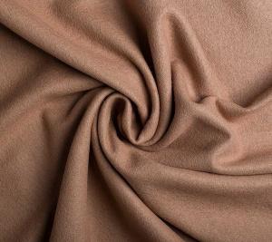Wełna płaszczowa jasny camel - resztka 180 cm x 150 cm