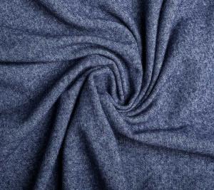 Włoska dzianina wiskozowa — niebieska