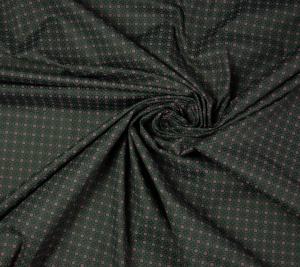 Bawełna koszulowa elastyczna - drobny wzór