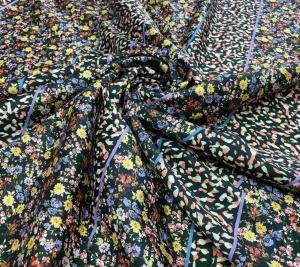 Bawełna organiczna - kwiaty i abstrakcja