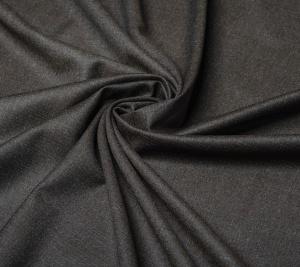 Tkanina wełniana - brązowy melanż