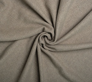 Tkanina wełniana płaszczowa szara