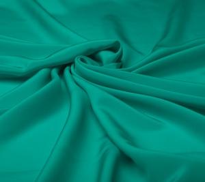 Krepa jedwabna w kolorze Tiffani