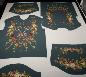 Oryginalna jedwabna bluzka - sygnowana D&G