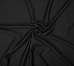 Wełna kostiumowa czarny kolor