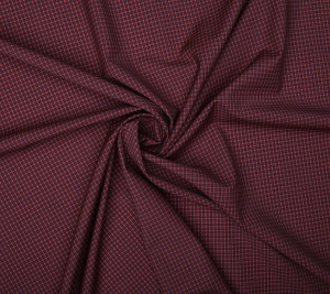 Bawełna koszulowa drobna krata- sygnowana GG