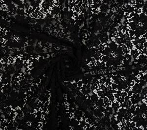 Koronka koderowa czarna