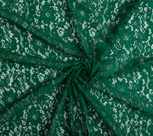Koronka koderowa zielona