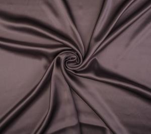 Satyna jedwabna - ciemna lawenda - resztka 45 cm x 140 cm