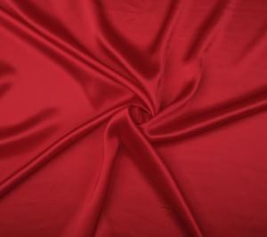 Satyna jedwabna - czerwona