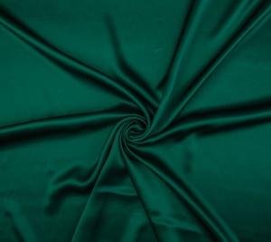 Satyna jedwabna - butelkowa zieleń