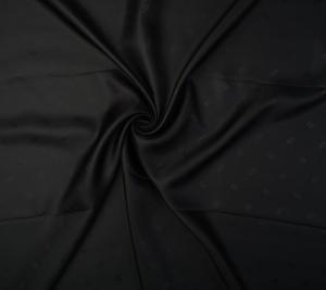 Podszewka wiskozowa czarna - sygnowana