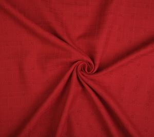 Wełna tweed czerwona - sygnowany GG