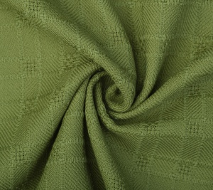 Wełna tweed zielona - sygnowana GG
